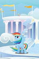 Rainbow Dash Windy Mane iPhone Wallpaper by RDbrony16