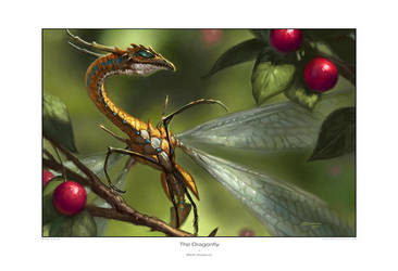 Dragonfly by StawickiArt