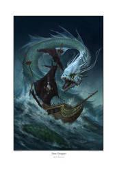 Sea Dragon by StawickiArt