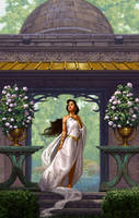 Priestess of the White by StawickiArt