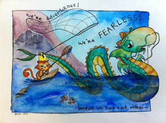 we're fearless! by tRuCciE