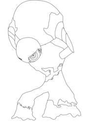 Atlas Sketch by ZeroGravityZone