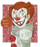 pennywise by SMILINGCAToOOo