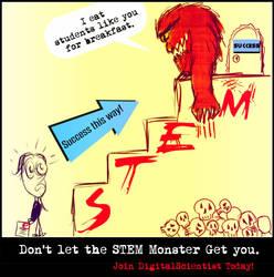 The STEM Monster! by koilj