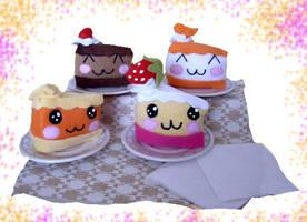 mmm nom nom nom cakes by chocoloverx3