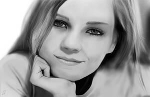 Face study by Matou31