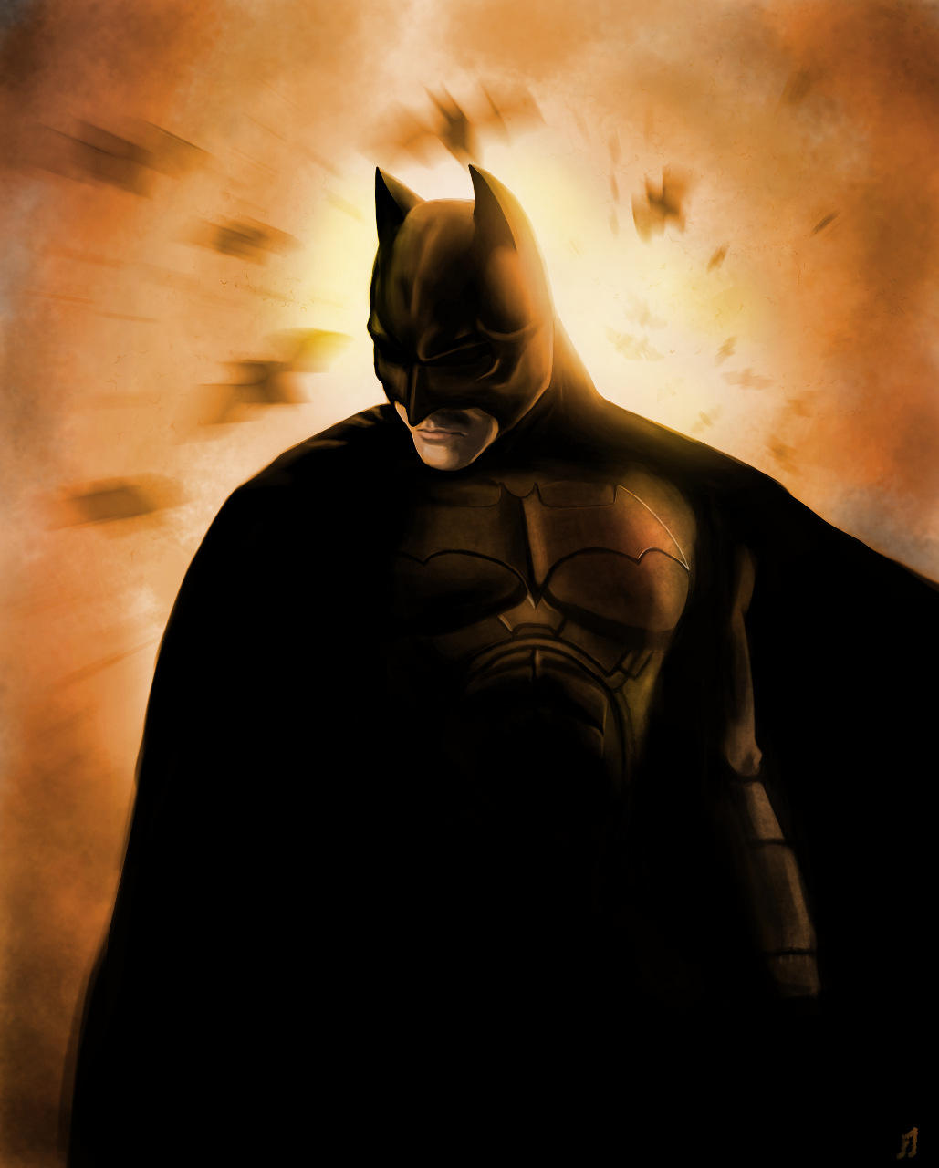 The Dark Knight by Matou31