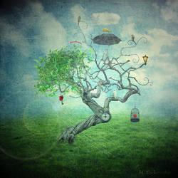 pequliar tree by monika-es