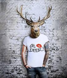 oh, deer by monika-es