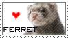 ferret stamp by evilemmamalakian