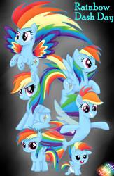 Rainbow Dash Day by liniitadash23