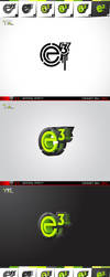 e3 spary paint logo by ykl