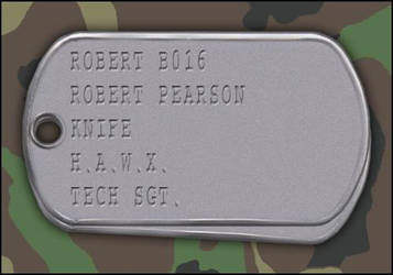 My H.A.W.X. Gamer Dog Tags by Bobby-116