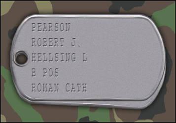 My Hellsing RPG Dog Tag Set by Bobby-116