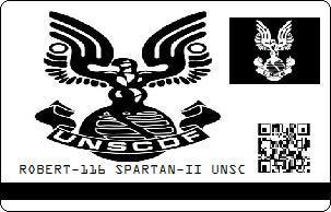 ROBERT-116 SPARTAN-II UNSC ID by Bobby-116