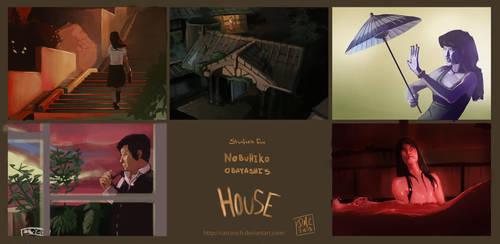 Nobuhiko Obayashi's House Studies by CatCouch