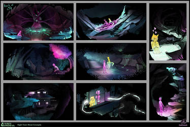 Altered Awareness Night Town Mood Concepts by CatCouch