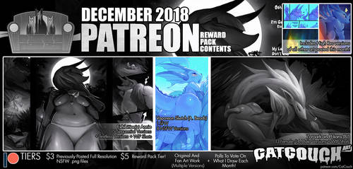 CatCouch December 2018 Patreon Reward Pack! by CatCouch