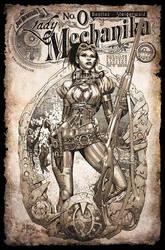 Lady Mechanika RI Cover by joebenitez