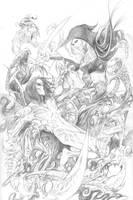 Darkness vs Maggy Commission by joebenitez