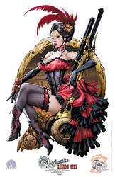 Lady Mechanika Saloon girl by joebenitez