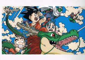 dragon ball by tenro1