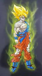 Goku Super Saiyan by tenro1