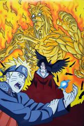 Naruto e Itachi by tenro1