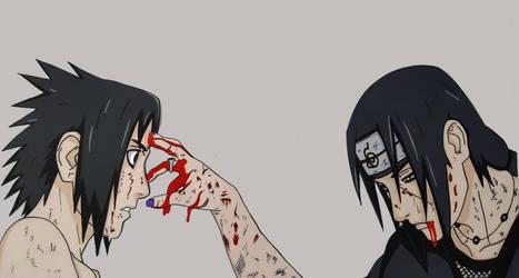 Sasuke E Itachi by tenro1