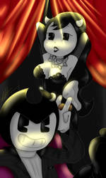 [Contest 1/2]Bendy and Alice by WaterFox-Studios