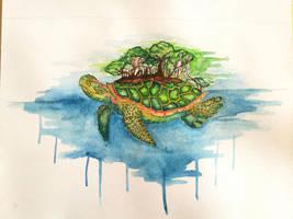 Turtle city by JasminnimsaJ