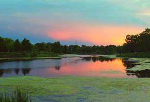 Lake Katherine by vi0letdreamer