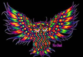 Owl by NicoDauk
