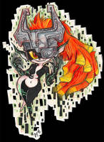 Midna Sketch commission by zoemoss