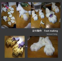 Foot making by kotoori-long