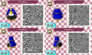 Animal Crossing New Leaf - VOCALOID Oliver QR Code by VALE-star