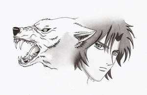 Wolf's Rain by loddel3000
