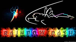 Rainbow Dash Wallpaper by nsaiuvqart
