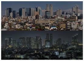 Tokyo 3413 by shiodome