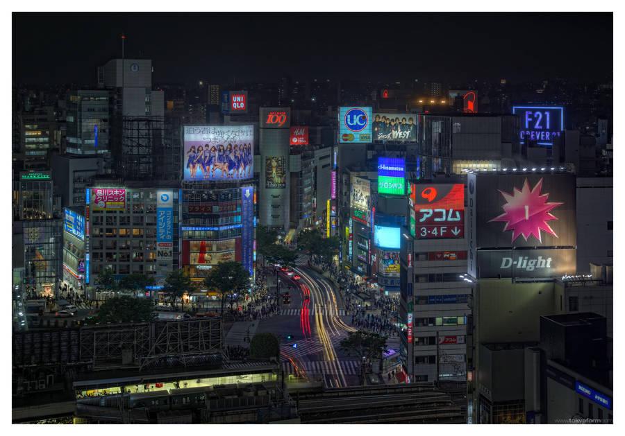 Tokyo 3415 by shiodome