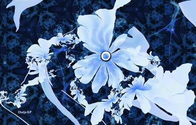 UF_Icy fantasy flowers by chetje