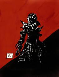 guild wars - deathounet by Bambiboule