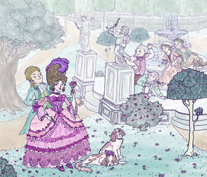 Rococo Scene by jennyweatherup