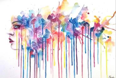 like raining fireworks by Pearl82980