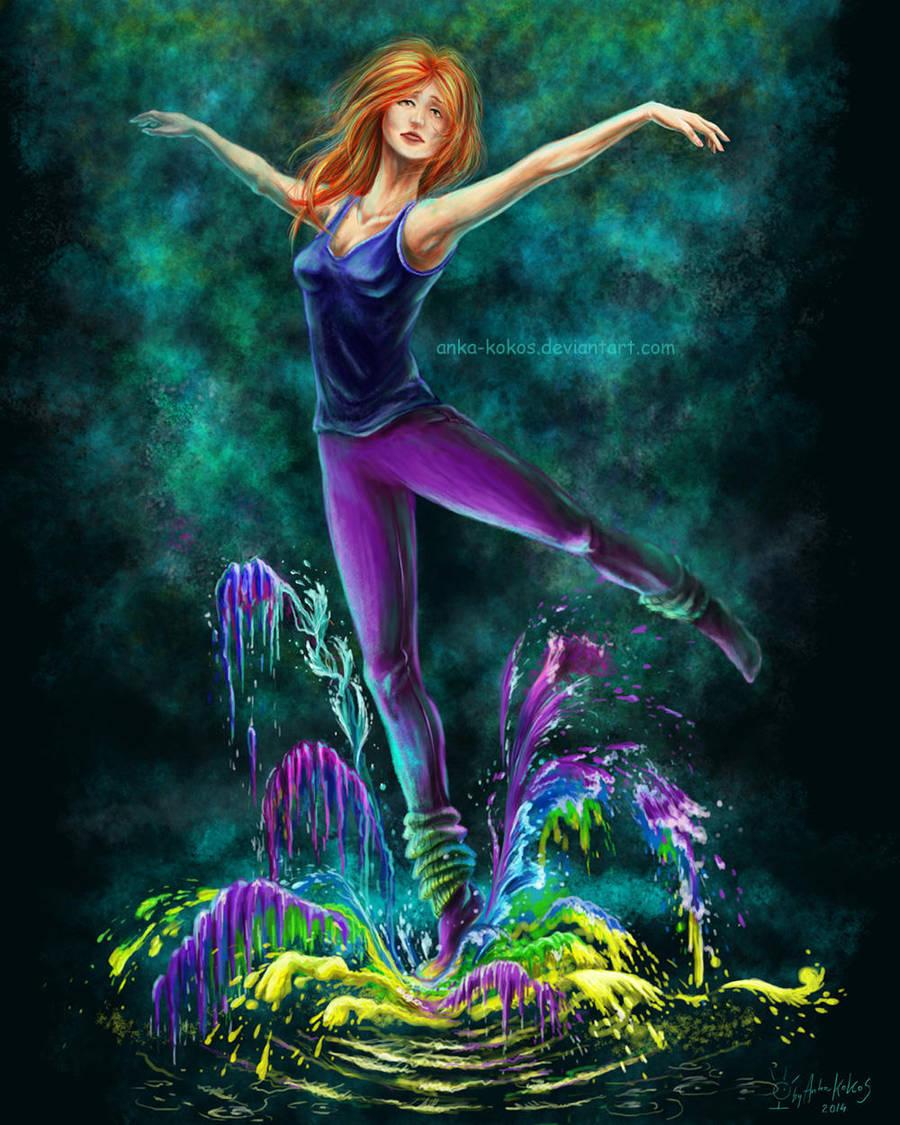 Dance of colours by anka-kokos