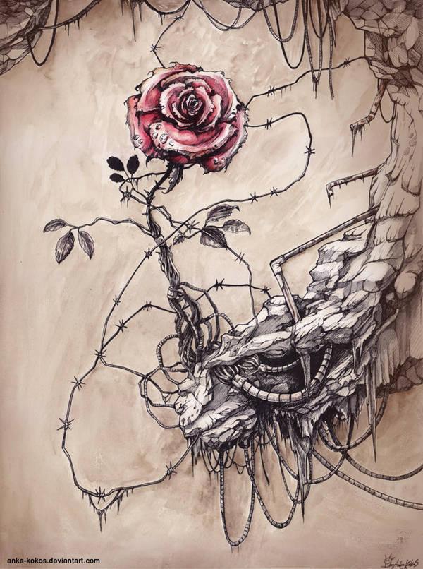 iron rose by anka-kokos