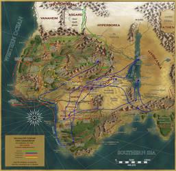 Joe Marek Conan Chronology by FarlandWorld