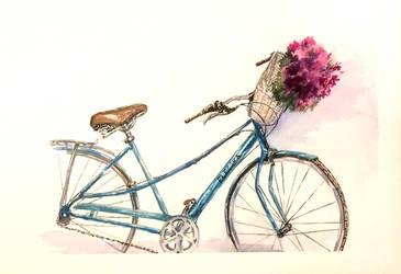 Bicycle by Katjama