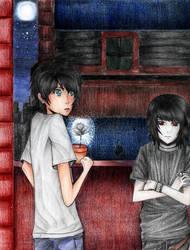 PJATO: Percy and Nico by czaren