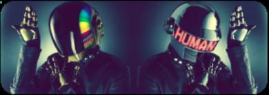 Daft Punk   f2u by CosmicStardustTea